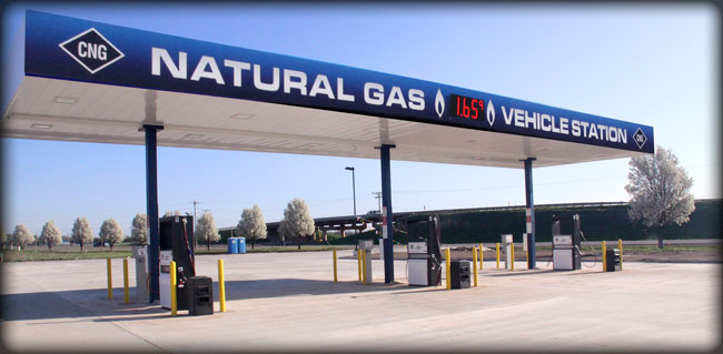 Natural Gas Stations >> B H Compressed Natural Gas Stations Oklahoma